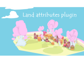 Land attributes plugin
